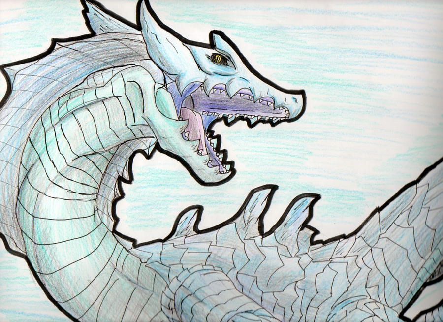 Lagiacrus by Spyckle