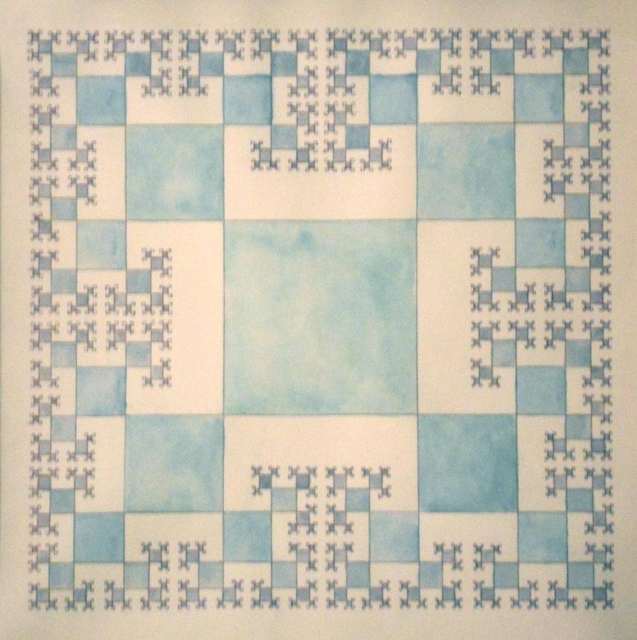 hand-drawn fractal by sensey-alexey