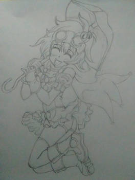 Jumping Magic Girl