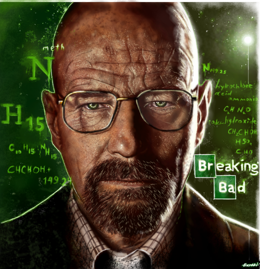 Breaking Bad - Walter White by p1xer