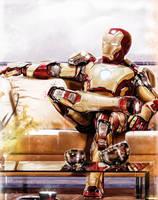 Iron Man by p1xer