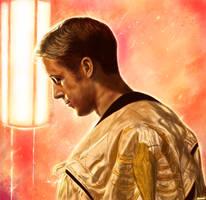 Ryan Gosling - Drive by p1xer