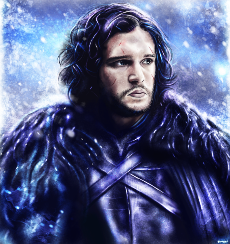 Game of Thrones : Jon Snow by p1xer