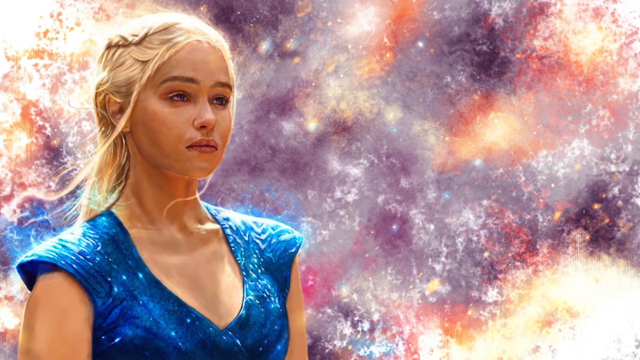 Game of Thrones : Daenerys Targaryen by p1xer