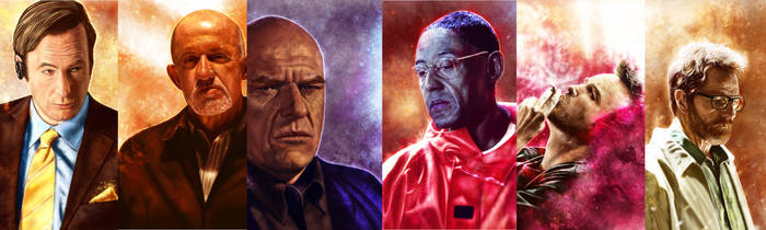 Breaking Bad characters collection