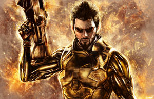 Deus Ex: Mankind Divided - Adam Jensen by p1xer