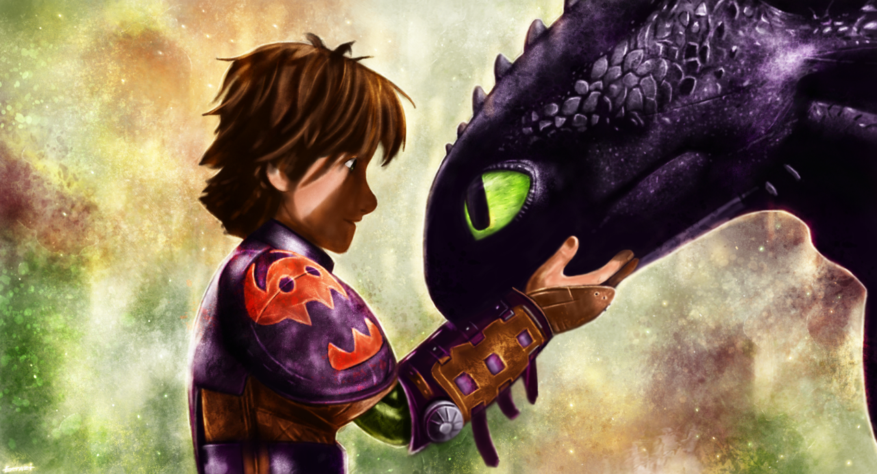 How to train your dragon hiccup and toothless by p1xer on deviantart how to train your dragon hiccup and toothless by p1xer ccuart Images