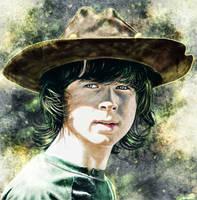 The Walking Dead - Carl Grimes by p1xer