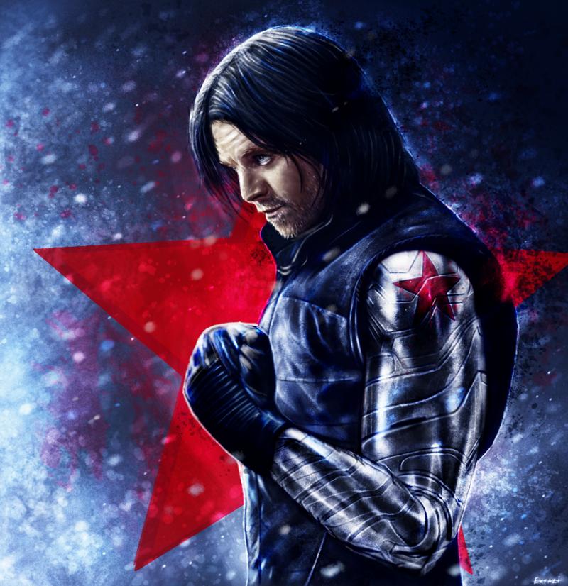 Captain America: Civil War - Bucky Barnes by p1xer on DeviantArt