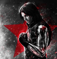 Captain America: Civil War - Winter Soldier by p1xer