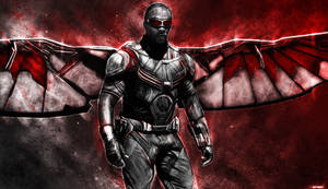 Captain America : Civil War - Falcon by p1xer