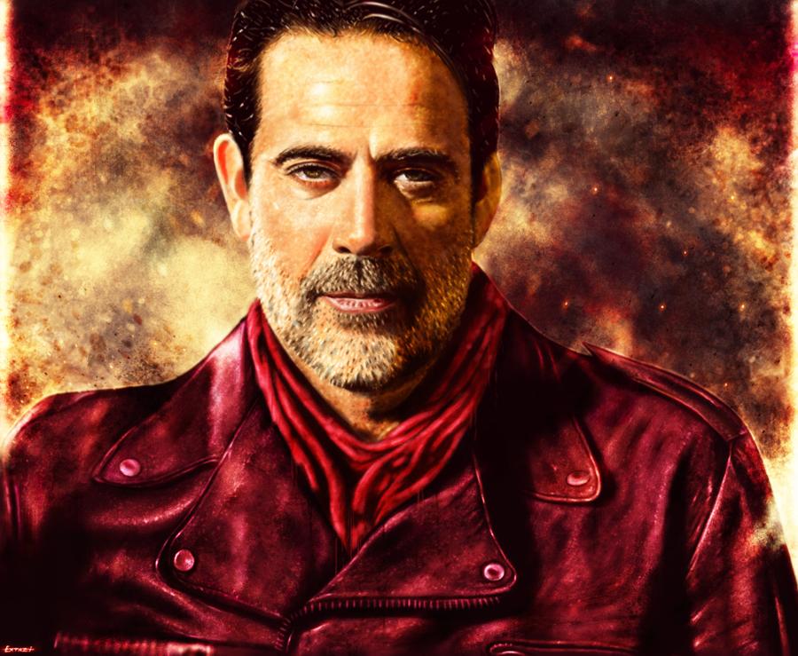 The Walking Dead Negan Wallpaper: Negan By P1xer On DeviantArt