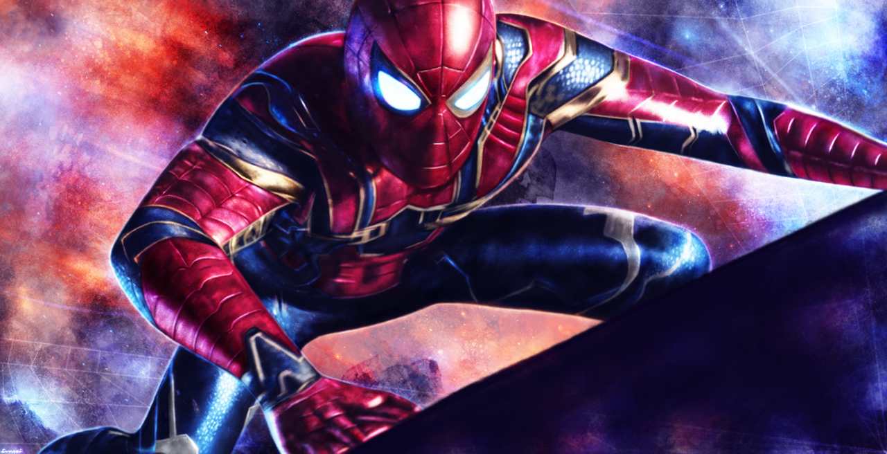 Fantastic Spider Man Homecoming Infinity War Wallpaper - avengers__infinity_war___spider_man_by_p1xer-dbx31c6  Picture_613525 .png