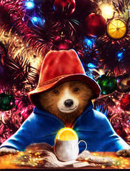 Christmas Paddington by p1xer