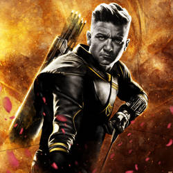 Avengers: Endgame - Hawkeye by p1xer