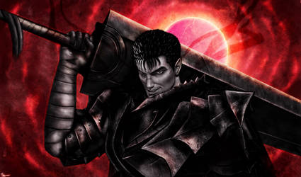 Berserk - Guts by p1xer