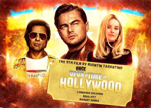 Once Upon a time in Hollywood alternative poster