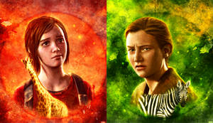 The Last of Us Part 2 Ellie and Abby