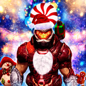 Doom Eternal - Santa Slayer