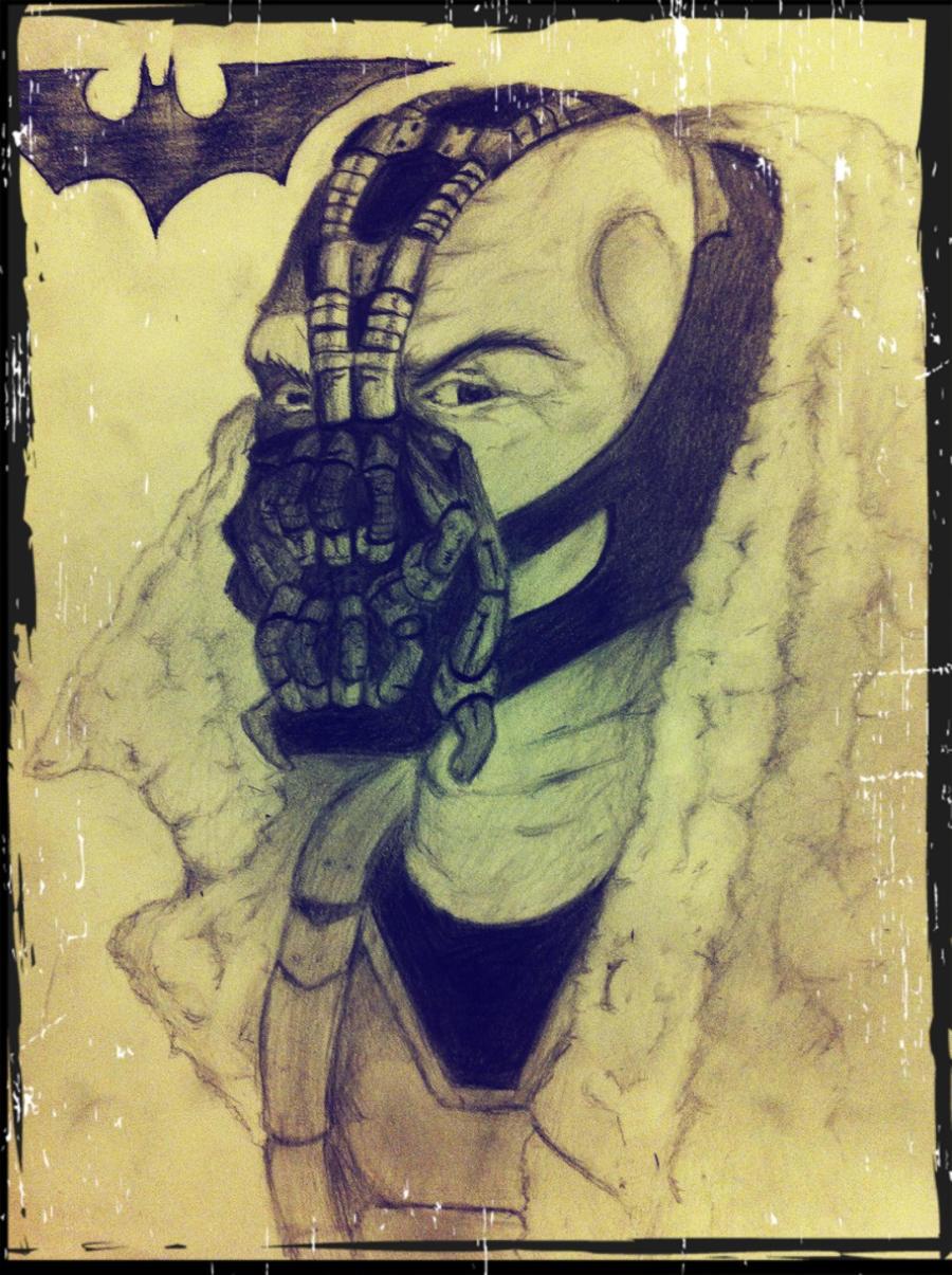 Bane Pencil Drawing by DiegoE05 on deviantART