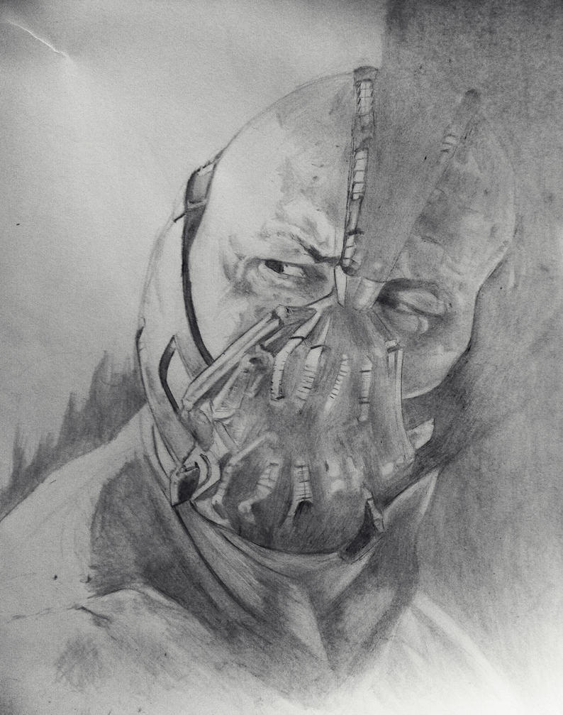 Bane drawing by DiegoE05 on deviantART
