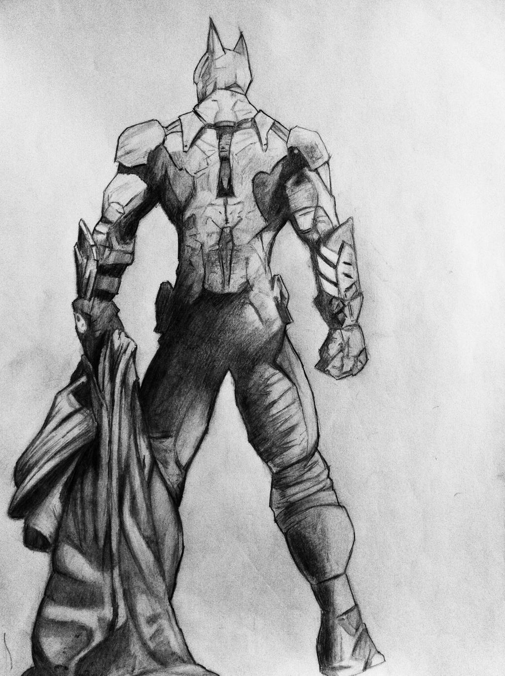 Batman Arkham Knight Drawing By DiegoE05 On DeviantArt