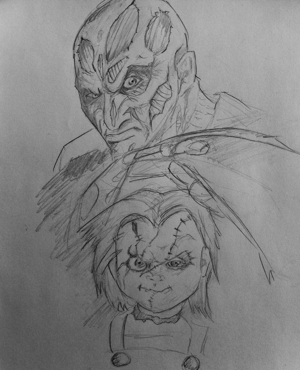 how to draw freddy krueger& 39