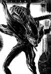 Warrior Xenomorph