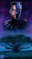 Black Panther Chadwick Boseman Tribute