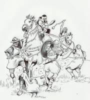 Knight at war XII Century