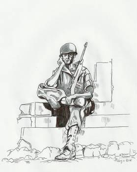 1944 GI in Italy