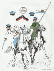 RCW White Armies Ataman Annenkov Division