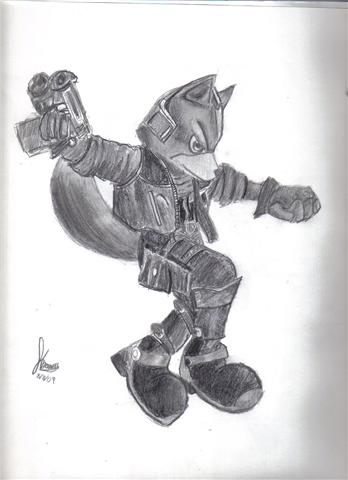 Fox McCloud by A-Smooth-Criminal