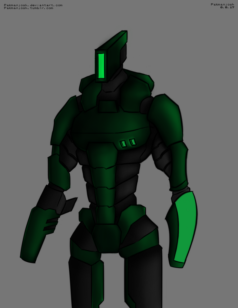 Robot Man by Pakmanjosh
