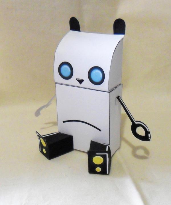 Robot Panda Done by PandaBarBear