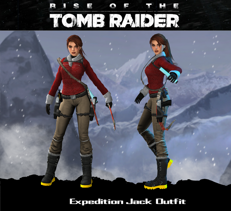 Tomb Rider Wallpaper: [Mod] Lara Croft Expedition Jack Outfit By IsagiiirlyB On