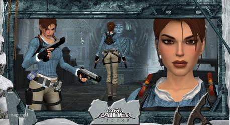 [Mod] Lara Beta Legend Winter by isagiiirlyB