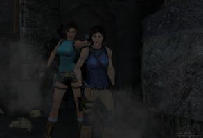True Lara vs Fake Lara