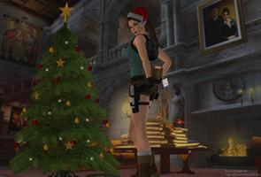 Lara Croft - Xmas!!! 2