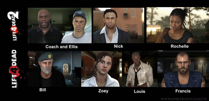 Left 4 Dead 2 - remake of the original actors