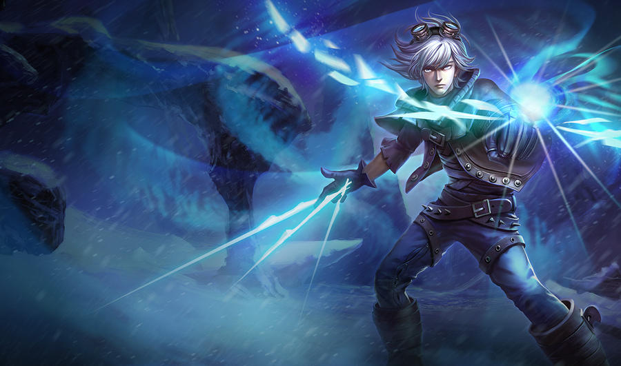 Frosted Ezreal chinese...