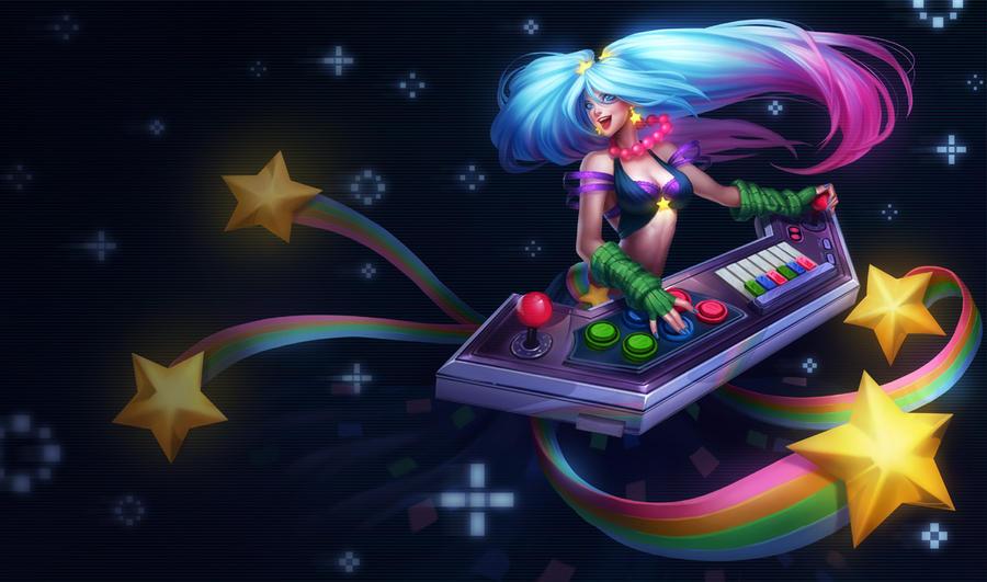 Arcade Sona by Aveldine