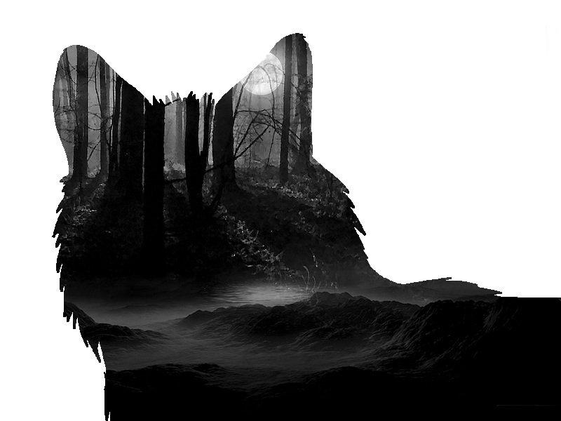 Dark forest wolf by Aveldine on DeviantArt