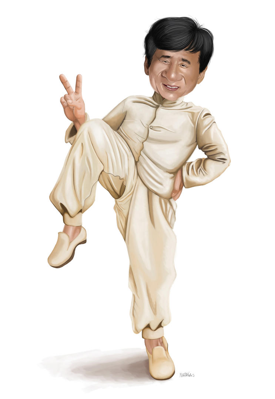 Jackie Chan by NataliaBenavides