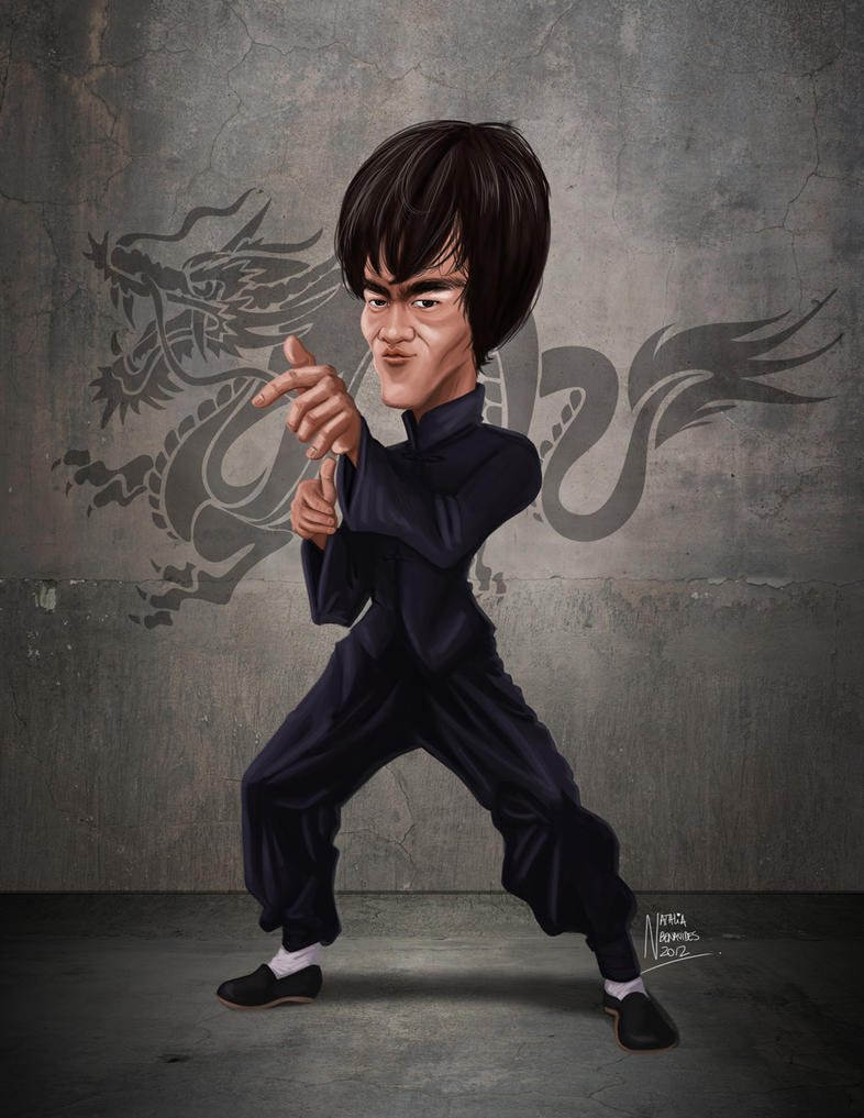 Bruce Lee by natynarunyo