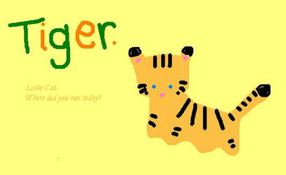 little tiger by SecondDaughter