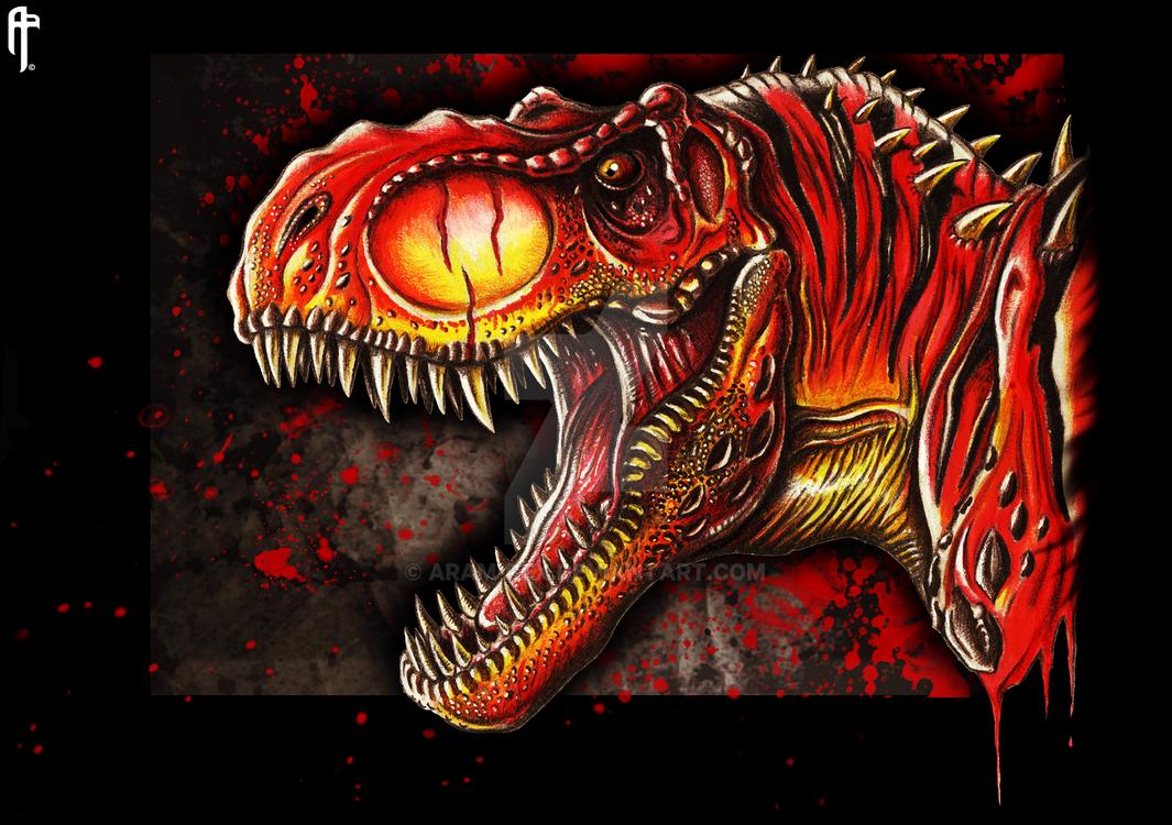 Jurassic World the Game Customized Level 40 T.Rex by Aram-Rex