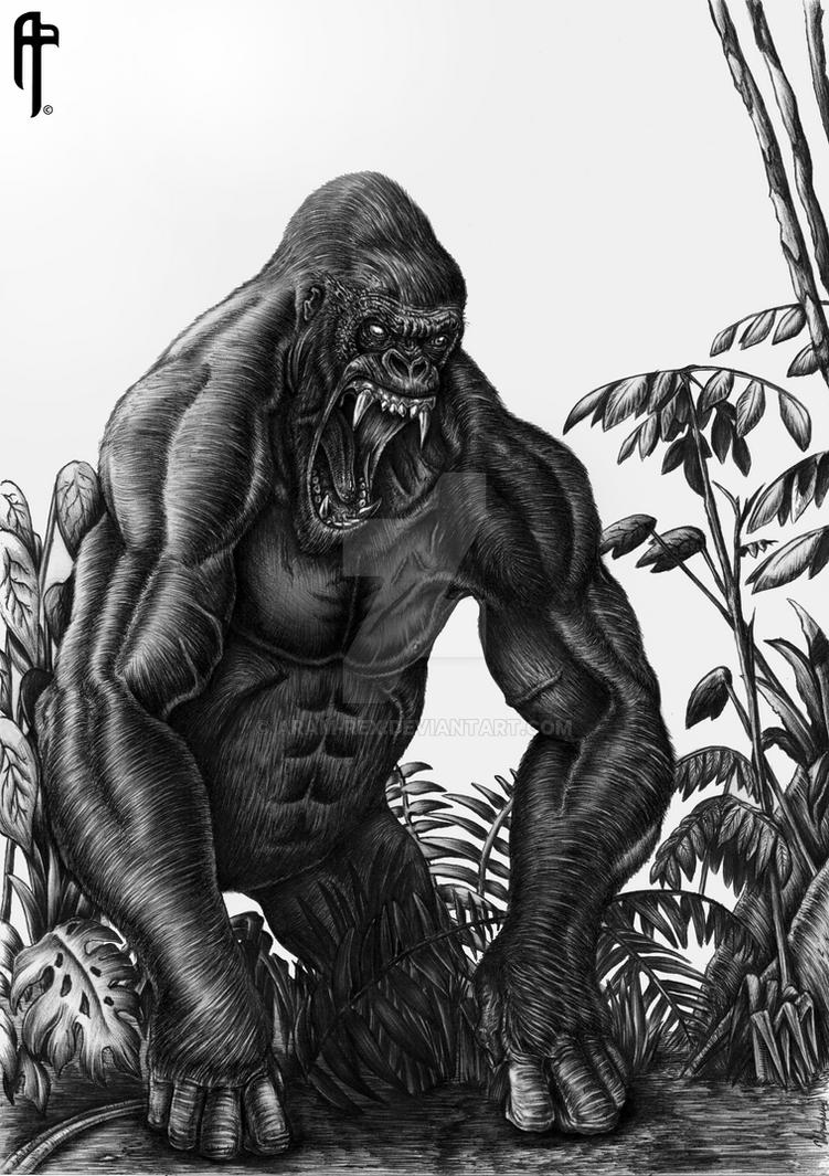 Kerchak from Legend of Tarzan by Aram-Rex