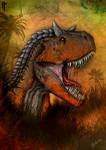 Carnotaurus (colored version poster)