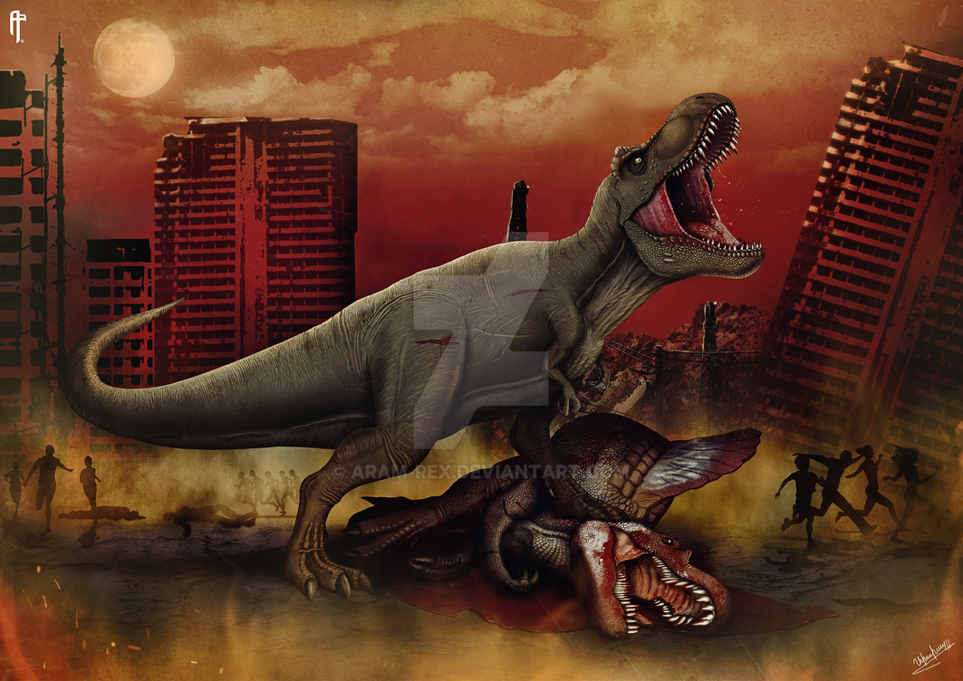 WARPATH : Jurassic World by Aram-Rex